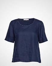 Gerry Weber Edition Blouse Short-Sleeve Bluse Kortermet Blå GERRY WEBER EDITION
