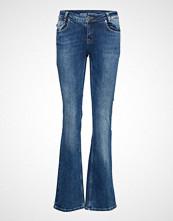 Denim Hunter Dhyara Bootcut Custom Jeans Sleng Blå DENIM HUNTER