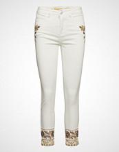 Desigual Denim Sari White Skinny Jeans Hvit DESIGUAL
