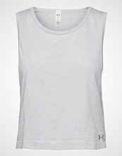 Under Armour Tb Seamless Muscle Spacedye Tank T-shirts & Tops Sleeveless Hvit UNDER ARMOUR