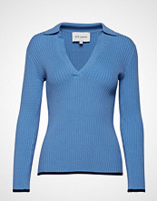 Six Ames Maja T-shirts & Tops Long-sleeved Blå SIX AMES