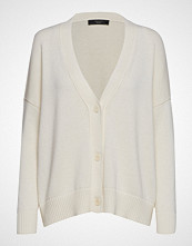 Weekend Max Mara Todi Strikkegenser Cardigan Creme WEEKEND MAX MARA