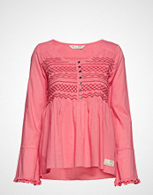 Odd Molly Fring Swing Blouse Bluse Langermet Rosa ODD MOLLY
