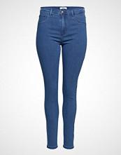 Only Carmakoma Carstorm Push Up Hw Sk Jeans Mbd Noos Skinny Jeans Blå ONLY CARMAKOMA