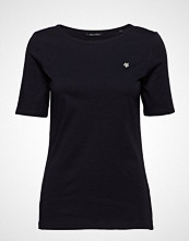 Marc O'Polo T-Shirt Short Sleeve T-shirts & Tops Short-sleeved Svart MARC O'POLO