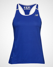 New Balance Printed Nb Ice 2.0 Tank T-shirts & Tops Sleeveless Blå NEW BALANCE