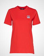 Diesel Women T-Sily-Ze T-Shirt T-shirts & Tops Short-sleeved Rød DIESEL WOMEN