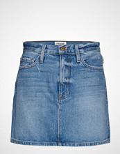 FRAME Le Mini Skirt Kort Skjørt Blå FRAME