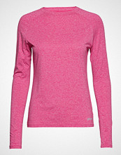 Skins Activewear Siken Womens L/S Top T-shirts & Tops Long-sleeved Rosa SKINS