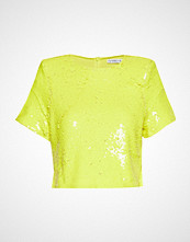 Ivyrevel Sequin Tshirt T-shirts & Tops Short-sleeved Gul IVYREVEL