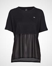 Calvin Klein Performance Short Sleeve Tee T-shirts & Tops Short-sleeved Svart CALVIN KLEIN PERFORMANCE
