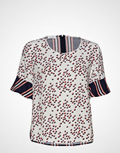 Gerry Weber Blouse Short-Sleeve T-shirts & Tops Short-sleeved Creme GERRY WEBER