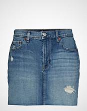GAP V-5pkt Mini Skirt Med Moscato Kort Skjørt Blå GAP