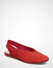 Marc O'Polo Footwear Anita 1a Ballerinasko Ballerinaer Rød MARC O'POLO FOOTWEAR