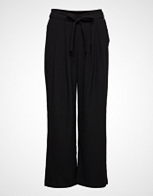 B.Young Bydenise Wide Pants - Vide Bukser Svart B.YOUNG