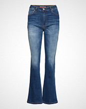 Please Jeans Longcut Berlin Jeans Sleng Blå PLEASE JEANS