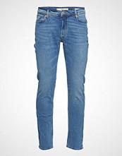 Mango Man Slim-Fit Light Wash Jan Jeans Slim Jeans Blå MANGO MAN