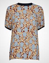 Lovechild 1979 Chiara Blouse Bluse Kortermet Beige LOVECHILD 1979