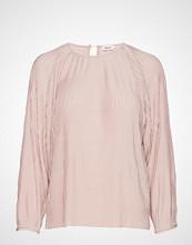 Filippa K Wave Pliss Blouse Bluse Langermet Rosa FILIPPA K