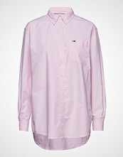 Tommy Jeans Tjw Tommy Classics S Langermet Skjorte Rosa TOMMY JEANS