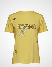Svea Monaco Tee T-shirts & Tops Short-sleeved Gul SVEA