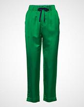 Scotch & Soda Tailored Jogger Pants In Viscose-Linen Quality Bukser Med Rette Ben Grønn SCOTCH & SODA