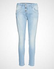 Please Jeans C Light Str. No Cut Slim Jeans Blå PLEASE JEANS