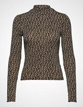 Gina Tricot Dora Turtleneck T-shirts & Tops Long-sleeved Multi/mønstret GINA TRICOT