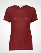 Dagmar Upama T-shirts & Tops Short-sleeved Rød DAGMAR