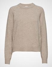 Filippa K Soft R-Neck Sweater Strikket Genser Beige FILIPPA K