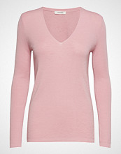 nué notes Inge V-Neck Strikket Genser Rosa NUÉ NOTES