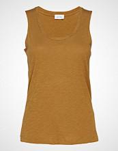 American Vintage Jacksonville T-shirts & Tops Sleeveless Brun AMERICAN VINTAGE