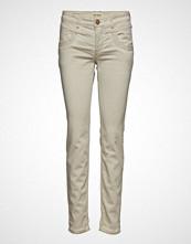 Mos Mosh Naomi Embroidery Soft Pant Skinny Jeans Creme MOS MOSH