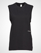 Calvin Klein Muscle Tank 2pk T-shirts & Tops Sleeveless Svart CALVIN KLEIN