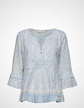 Odd Molly Flowering Spirit Blouse Bluse Langermet Blå ODD MOLLY