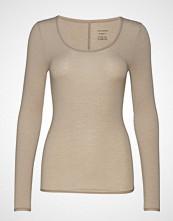 Schiesser Shirt 1/1 T-shirts & Tops Long-sleeved Beige SCHIESSER