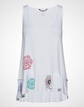 Desigual Ts Melisa T-shirts & Tops Sleeveless Hvit DESIGUAL
