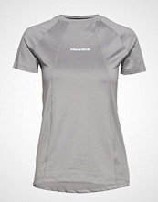 Newline Black Tech Tee T-shirts & Tops Short-sleeved Grå Newline