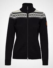 Dale of Norway Cortina Merino Feminine Jacket Strikket Genser Svart DALE OF NORWAY
