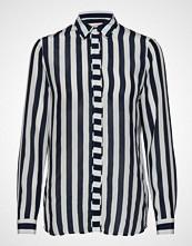 Custommade Bonni Bluse Langermet Blå CUSTOMMADE