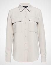 Designers Remix Veronique Shirt Langermet Skjorte Creme DESIGNERS REMIX
