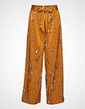 Yas Yastoulon Mw Wide Pants Vip Vide Bukser Oransje YAS