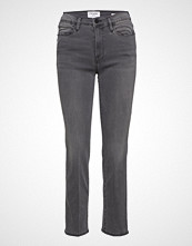 FRAME Le High Straight Slim Jeans Grå FRAME