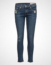Rag & Bone Skinny Skinny Jeans Blå RAG & B