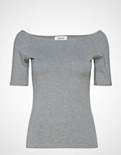 Modström Tansy Top T-shirts & Tops Short-sleeved Grå MODSTRÖM