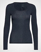 Schiesser Shirt 1/1 T-shirts & Tops Long-sleeved Blå SCHIESSER