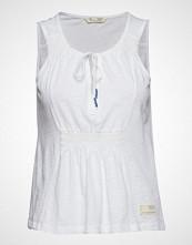 Odd Molly Groove Romance Top T-shirts & Tops Sleeveless Hvit ODD MOLLY