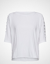 Levi's Made & Crafted Lmc Boxy Crochet Tee Bright Wh T-shirts & Tops Short-sleeved Hvit LEVI'S MADE & CRAFTED