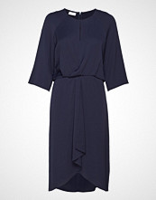 Gerry Weber Dress Woven Fabric Knelang Kjole Blå GERRY WEBER