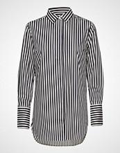 Second Female Dane Stripe Shirt Bluse Langermet Multi/mønstret SECOND FEMALE